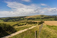 Cycling the South Downs (Jenny.Lawrence) Tags: landscape nature south downs national park outdoors adventures cycling bike sky green rolling hills