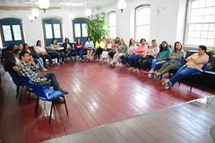Roda de conversa com profissionais de saude, de Itaboraí, sobre prevenção de cancer de mama (3) (itaborairj) Tags: roda conversa saúde câncer mama 23102017