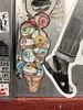 Eye cone (aestheticsofcrisis) Tags: street art urban intervention streetart urbanart guerillaart graffiti postgraffiti new york ny nyc manhattan soho lowereastside citykitty wheatpaste pasteup