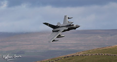 RAF Tornado GR4 ZA588 low level in Northern England (NDSD) Tags: low level panavia tornado gr4 cumbria yorkshire pennine pennines flying jet raf lake district plane aviation aircraft dales