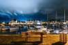 Port de nuit (tjwsphotographies) Tags: nikon nuit nightscape night normandie france calvados harbour landscape paysage nuages clouds travel voyage eau mer sea port north nature 24mm weather countryside paisaje naturephotography seascape ship