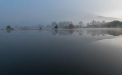 Cerknica Lake (happy.apple) Tags: cerknica slovenia si cerkniškojezero cerknicalake slovenija mornig fog autumn fall jesen megla jutro reflection odsev intermittentlake presihajočejezero slivnica