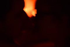 kiss (BarboraS) Tags: kiss love fire kissing man woman light darkness night siluet