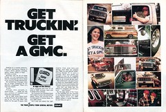 1976 GMC Pickup Truck and Van Advertisement Hot Rod November 1976 (SenseiAlan) Tags: 1976 gmc pickup truck van advertisement hot rod november