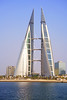 Bahrain World Trade Center, Manama (Andrey Sulitskiy) Tags: manama bahrain