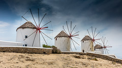 Windmills of Mykonos (Juergen Huettel Photography) Tags: mykonos windmill windmühle griechenland greek sky clouds blue jhuettel island insel mittelmeer ветряная мельница миконос μύκονοσ mediterranean sea средиземное море 地中海 岛 希腊 europa 欧洲 米科诺斯岛 云 楼 樓 gebäude building 所 строительство בניין מיקונוס טחנת רוח
