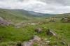 Healy Pass, Kerry/Cork (Spannarama) Tags: hills mountainpass healypass windingroad clouds cork kerry r574 ireland man car fiestast rocks