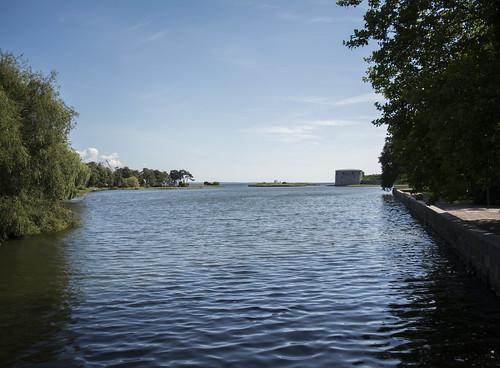 View from Kalmar city park