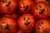 Macro Mondays - Halloween (cuppyuppycake) Tags: macro mondays halloween pumpkin orange chocolate treats faces hmm macromondays