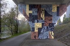 Perkup x Friend (Herbalizer) Tags: perk friend mural wien vienna austria österreich wall graffiti street urban donaukanal danube canal art perkup