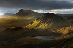Adagio (DBPhotographe) Tags: scotland quiraing sunrise skye isle light ray hills landscapes trotternish isleofskye hebrides