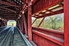 Shelter from the Rain, 2017.11.01 (Aaron Glenn Campbell) Tags: rhorsburg coveredbridge pattersonno112 orangetownship greencreek columbiacounty pennsylvania outdoors optoutside autumn fall allsaintsday bridge interior structure 3xp ±2ev hdr macphun aurorahdr2017 on1effects crossprocessing sony a6000 ilce6000 mirrorless rokinon 12mmf2ncscs wideangle primelens manualfocus emount