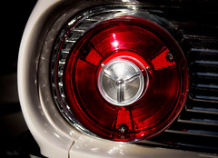 orbital... (Stu Bo) Tags: red taillight circle round sbimageworks shadows showcar canon certifiedcarcrazy coolcar classiccar car canonwarrior rearend oldschool ride reflections vintageautomobile retro lens