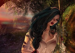 Breathe me in you Dreams... (Sparkle Skye) Tags: secondlife sl mystical avatar adore adored portrait dreams maitreya lelutka slphotography iconic