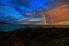 Rainbow!! (Masoodz) Tags: rainbow colors sky beautiful canon 650d famalin efs1018mm rain greatoceanroad blue dpp4 colorefexpro holidays nature fantasticnature pacific victoria australia