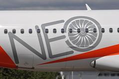 NEO (A380spotter) Tags: departure taxiout airbus a320 200 a320neo™ newengineoption sharklets™ sharklets sharklet™ sharklet wingtipdevices wingtipdevice winglets winglet 200sl guzhb neo decal decals sticker stickers easyjetairline ezy u2 u221ub u22037 ltntfs twya taxiwaya londonluton eggw ltn