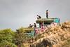 Just Hangin Around (thedailyjaw) Tags: lanikaipillboxes hawaii lanika lanai beach hike hill bunkers graffiti d610 tamron70200mm colours pop nikon oahu paradise grass clouds