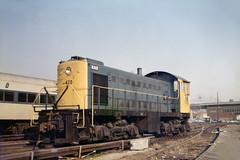 Found Photo - LIRR 420 S-2 7-30-1973 Charles Fiori Photo (David Pirmann) Tags: lirr longislandrailroad nyc newyorkcity train railroad 1970s charlesfioriphoto