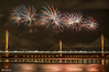 Mersey Gateway Bridge Fireworks 6 (Bob Edwards Photography - Picture Liverpool) Tags: 2017 bridge cheshire crossing gateway halton mersey merseyflow october13th river runcorn transport vehicles widnes
