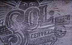 1899 (BGDL) Tags: lightroomcc nikond7000 bgdl niftyfifty afsnikkor50mm118g garden blackboard solcerveza 1899 numbers saturdaytheme flickrlounge