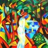 "im Herbst - ""Kunst im Alltag"" (alex ""heimatland"") Tags: august macke bäumen ölbild leinwand 1912 paar wald"