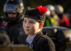 'Young Piper' (Canadapt) Tags: boy young piper bagpipes costume edinburgh park castlerock princesstreetgardens scotland canadapt