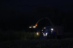 Corn Silage (Winiarsky) Tags: new holland t7220 john deere 7300 jd nh bossini corn silage poland autumn work canon eos 1200d