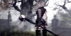 Witch (Alisa Perne) Tags: alisa26 alisaperne sl secondlife avatar salem deaddollz theforge bento lavie