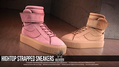 [VALE KOER] HIGHTOP STRAPPED SNEAKERS (VALE KOER) Tags: vk vale koer valekoer mya milena bob sl second life mesh shoes sneakers n21 slink maitreya gianni jake belleza
