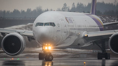 HS-TKO (Tynophotography (Martijn de Heer)) Tags: osl engm thai airways 777300er hstko 77w 773 777 boeing