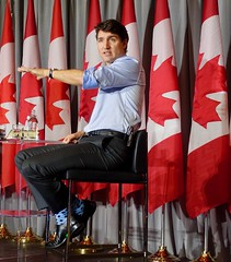 Canadian Prime Minister Justin Trudeau on AI and Quantum Computing (jurvetson) Tags: right honorable prime minister justin trudeau canada quantum computing creative destruction lab ai conference morning interviewed shivon zillis openai