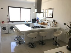 The kitchen in the Bed & Breakfast in Amman