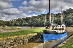 Cotehele Quay, River Tamar, Cornwall (Baz Richardson) Tags: cornwall rivertamar cotehelequay nationaltrust smallboats