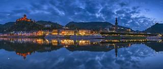 *Cochem @ blue hour panorama*