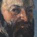 CEZANNE,1877 - Autoportrait (Orsay) - Detail 14