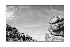 A un fil.... by Panafloma - Ploumanac'h - Bretagne