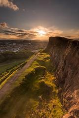 Lothians-63.jpg (Chris_Hoskins) Tags: wwwexpressionsofscotlandcom scottishlandscapephotography scotland edinburgh thecrags scottishlandscape salisburycrags sunset landscape centralscotland
