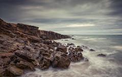 Overcast (Juan Pablo J.) Tags: oceano outdoor ocean outdoors california seascape searocks seashore sea sand beach