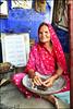 Grand mère, Udaipur, India. (nanie49) Tags: udaipur grandmère inde india asia asie rajasthan nikon d750 nanie49 portrait retrato grandmother abuela rouge red rojo