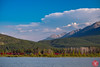 Trains (Kasia Sokulska (KasiaBasic)) Tags: fujix canada alberta rockies mountains vermilionlakes banffnp landscape lake nature train