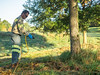 Flower Hill Local Park Tree Ring Spraying October 2017 (Montgomery Parks, MNCPPC) Tags: flowerhilllocalpark gaithersburg mncppc montgomerycounty nature park pesticide service spraying treerings trees weedcontrol