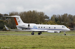 HALO DLR G550 D-ADLR (birrlad) Tags: shannon snn international airport ireland aircraft aviation airplane airplanes bizjet private gulfstream aerospace g550 alo dlr dadlr modified high altitude sampling weather mission wavedrivenisentropicexchange wise scientific research atlantic ocean