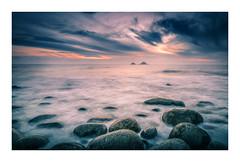 Sea Dreams (David Haughton) Tags: porthnanven cotvalley cornwall cornish coast seascape beach sunset boulders sea waves evening shore shoreline fineart davidhaughton