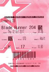 Blade Runner 2049 @ Cineworld Didsbury, Manchester 12/10/2017