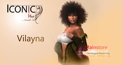 VILAYNA_banner (Neveah Niu /The ICONIC Owner) Tags: neveahniu curlyhair mainstore secondlife blender photoshop naturalhair 3dhair iconic hair