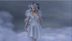 That sugar plum fairy you hear so much about.... (tralala.loordes) Tags: ison secondlife virtualreality avatar fairy wings flowers headpiece lode sugarplum cloud9 blueorange satire tralalaloordes fantasy pastels mist magical flickrunitedaward