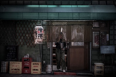 Let's go out (karinavera) Tags: city night photography urban ilcea7m2 people japan tokyo 85mm street