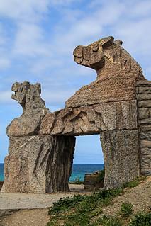 Puerta al mar. Door to the Sea