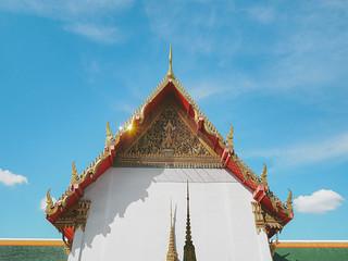 Temple Bangkok. Colores