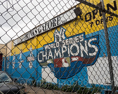 Yankees World Series Champions Mural at 1331 Jerome Avenue, Bronx, New York City (jag9889) Tags: 2017 20171015 al allamericacity americanleague architecture auto baseball baseballteam bombers bronx building concourse fence garage graffiti house jeromeavenue majorleaguebaseball mural ny nyyankees nyc nyy newyork newyorkcity newyorkyankees outdoor painting pinstripes southbronx streetart tagging text thebronx thebronxbombers theyanks usa unitedstates unitedstatesofamerica wall worldseries yankees jag9889